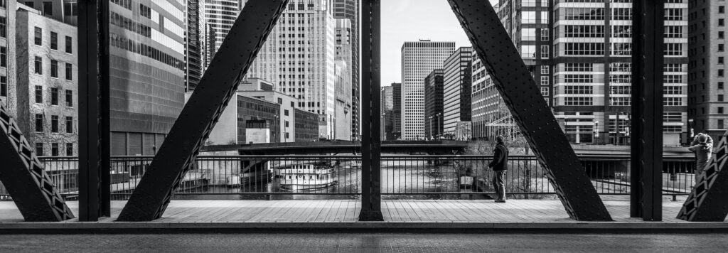 Kinzie Street Bridge Chicago