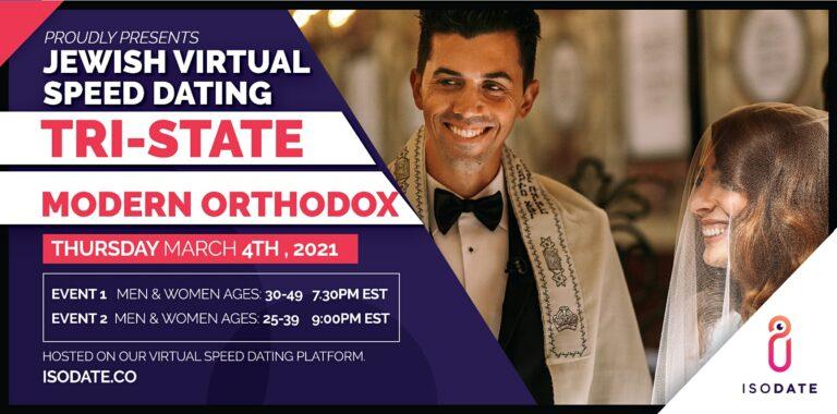 Modern Orthodox Tri State Jewish Virtual Speed Dating