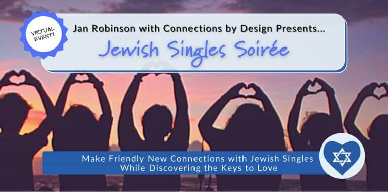 Jewish Singles Soirée | SF Bay Area and Beyond | Open Age Range