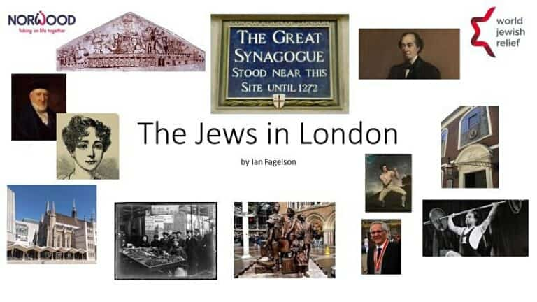 The Jews in London – 1,000 Years of History in about an Hour