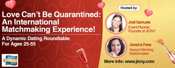 Love Can't be Quarantined – Virtual Speed Dating & Matchmaking Experience