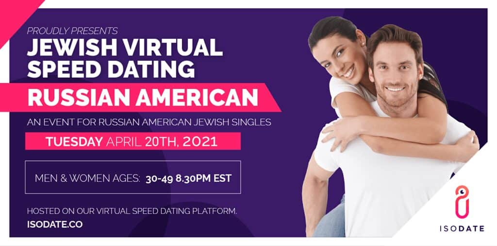Isodate's Russian American Jewish Virtual Speed Dating