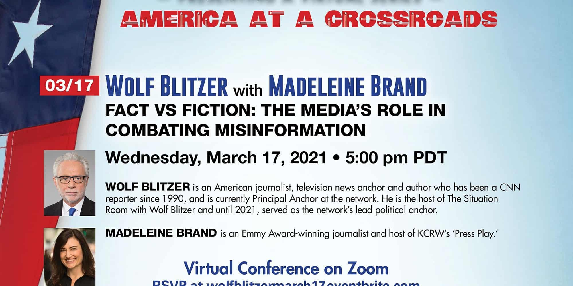 Wolf Blitzer:Fact vs Fiction: The Media's Role in Combating Misinformation