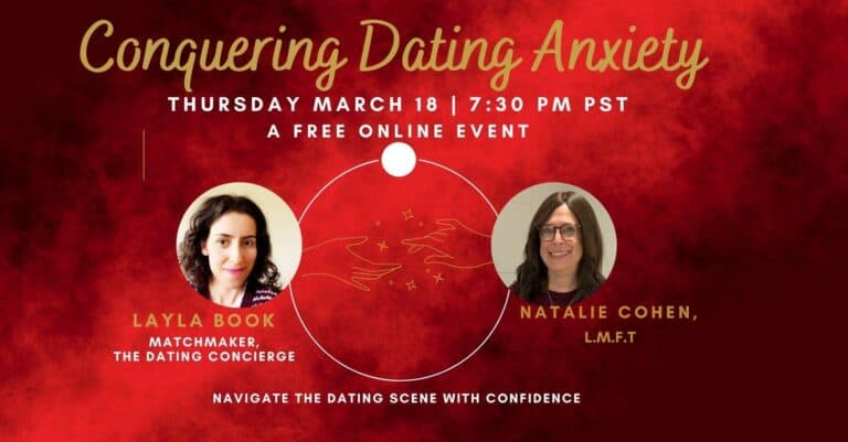 Conquering Dating Anxiety – Free Webinar