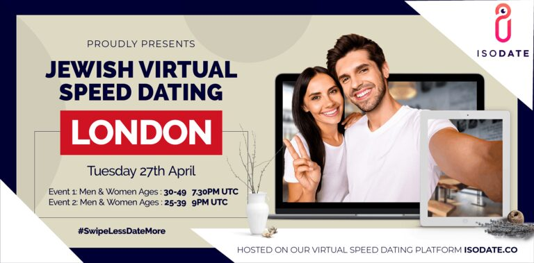 Isodate's London Jewish Virtual Speed Dating