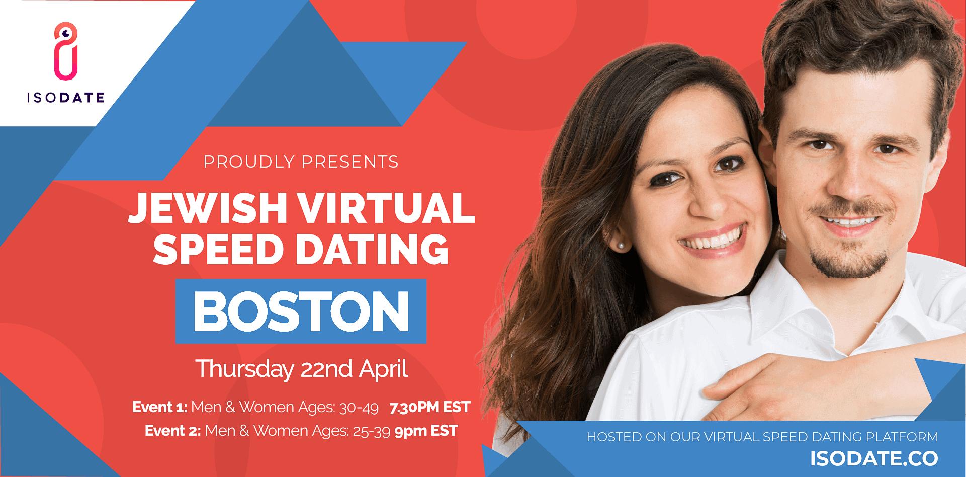 Isodate's Boston Jewish Virtual Speed Dating