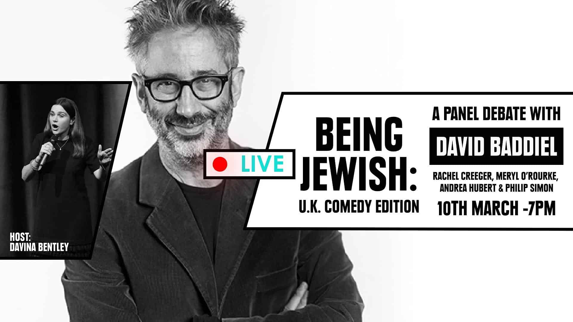 Being Jewish: UK Comedy Edition