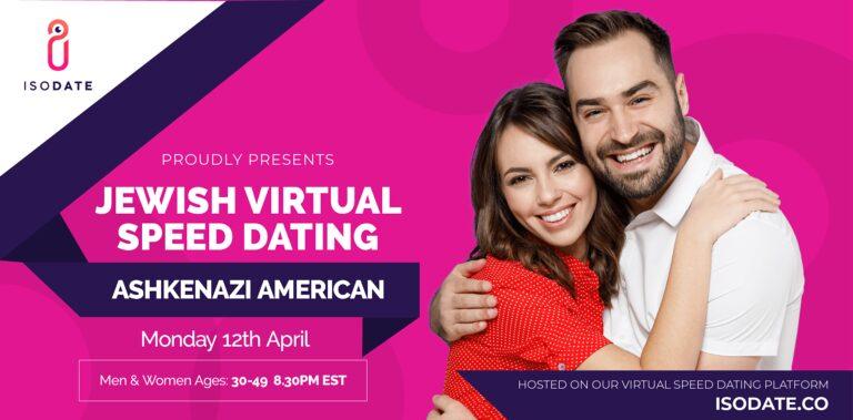 Isodate's Ashkenazi Jewish Virtual Speed Dating