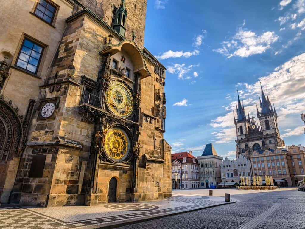 Astronomical Clock and Old Town Square