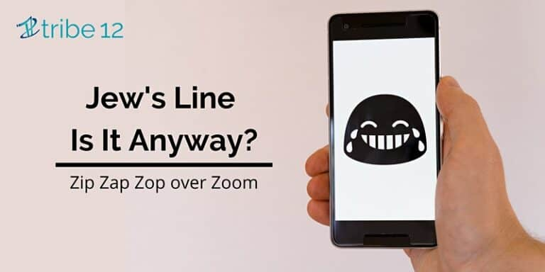 Jew's Line Is It Anyway: A Zoom Improv Class