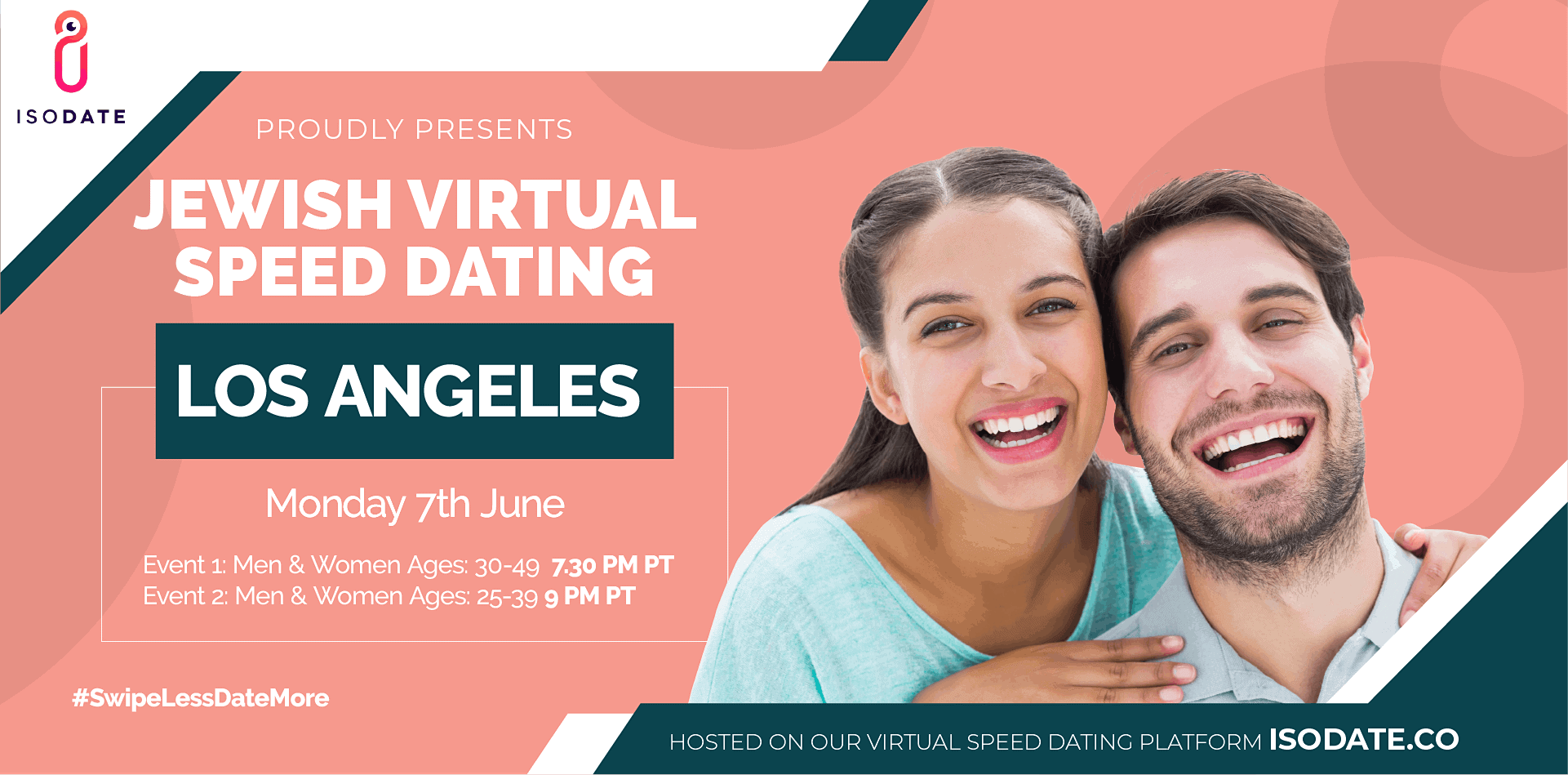 Isodate's Los Angeles Jewish Virtual Speed Dating