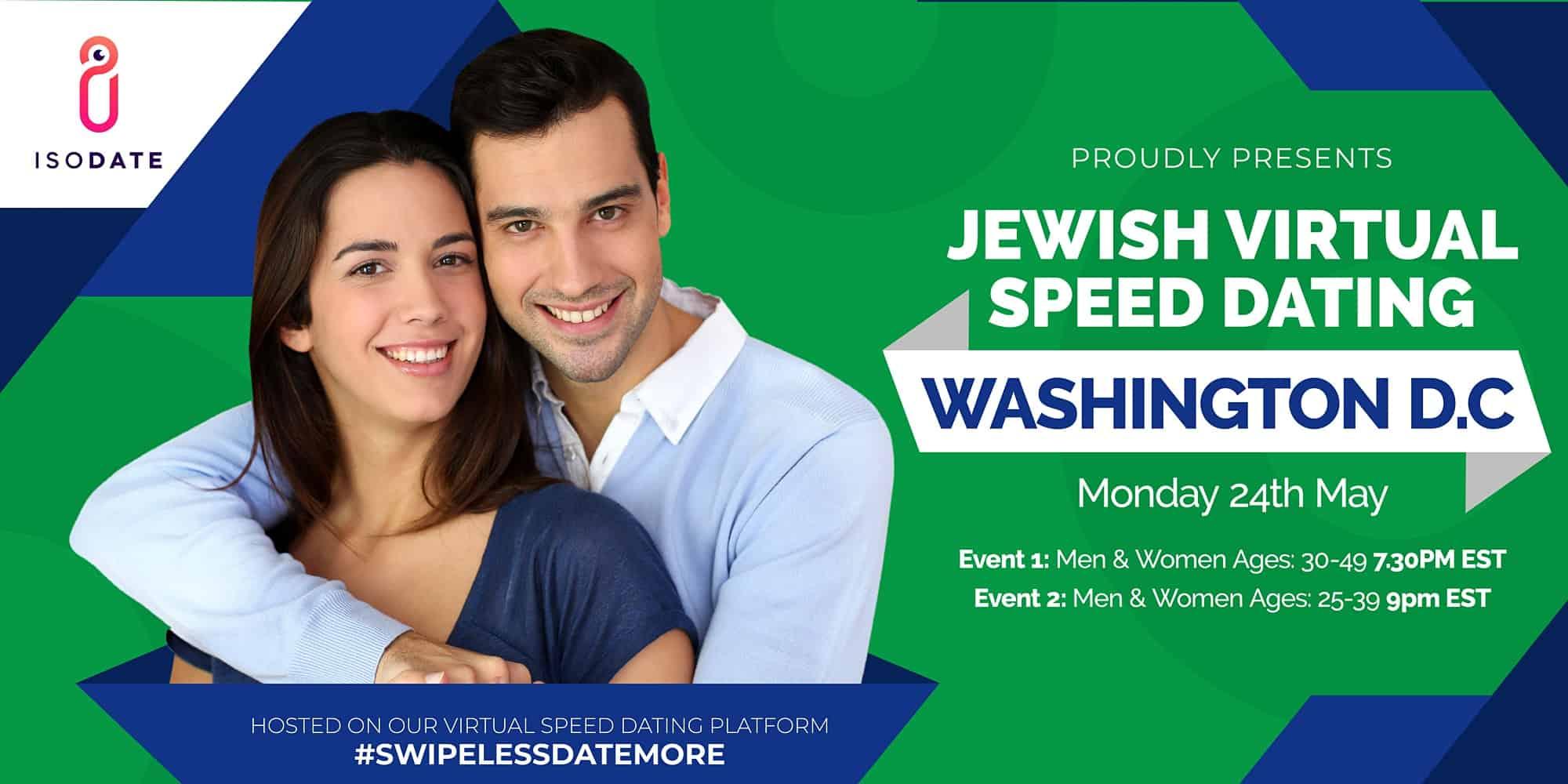 Isodate's Washington DC Jewish Virtual Speed Dating
