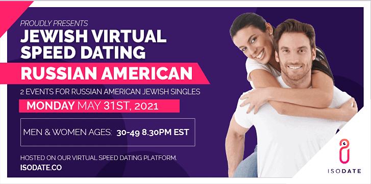 Isodate's Russian American Jewish Virtual Speed Dating