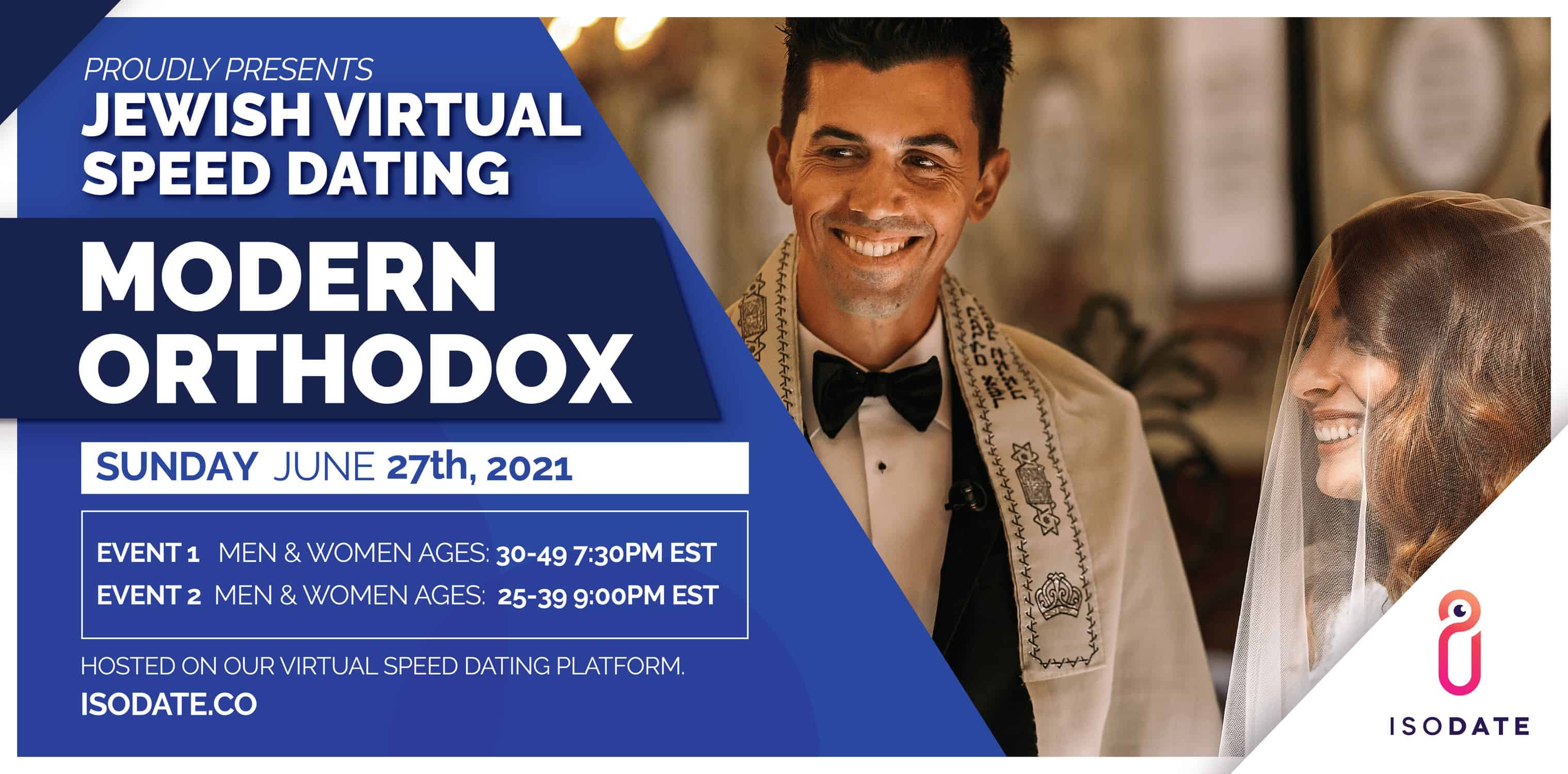 Modern Orthodox Jewish Virtual Speed Dating