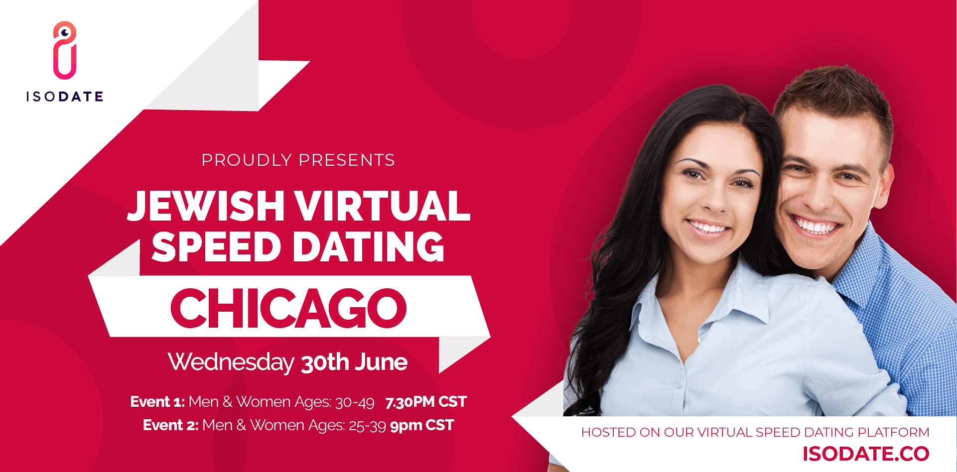 Isodate's Chicago Jewish Virtual Speed Dating