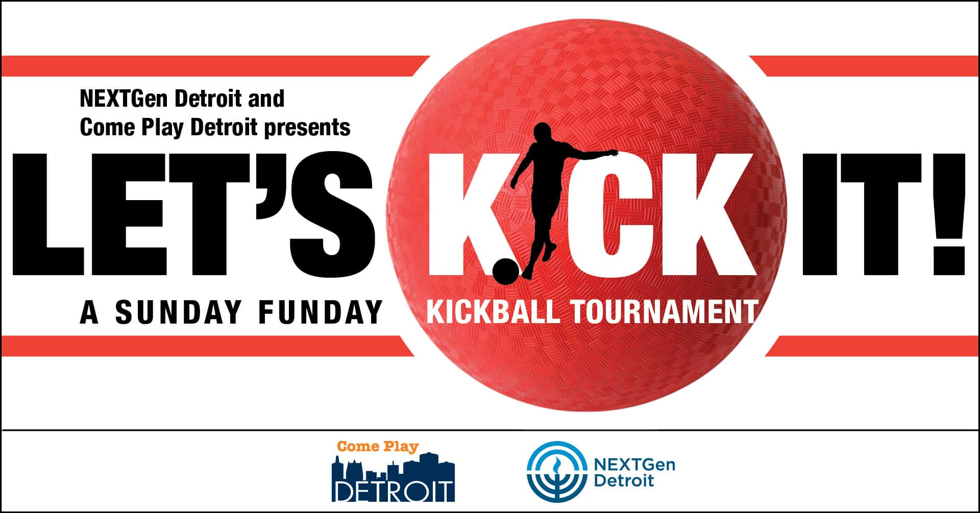 Let's Kick It!: A Sunday Funday Kickball Tournament