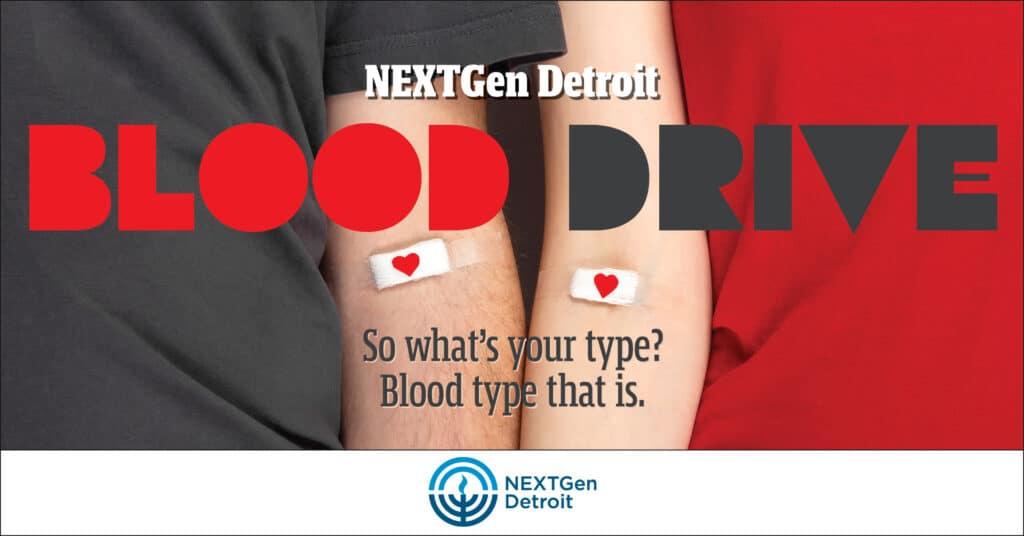 NEXTGen Detroit Blood Drive