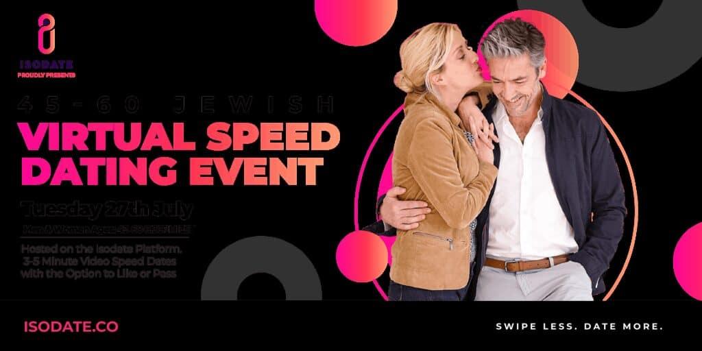 Isodate's 45-60 Jewish Virtual Speed Dating