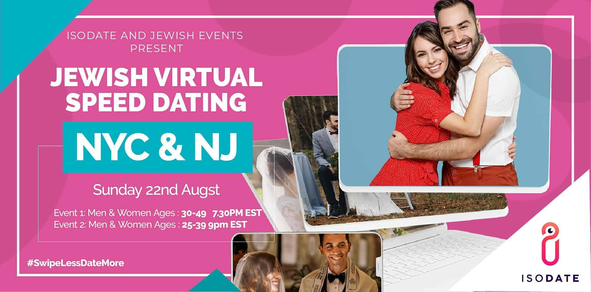 Isodate and Jewish Events's NYC & NJ Virtual Speed Dating