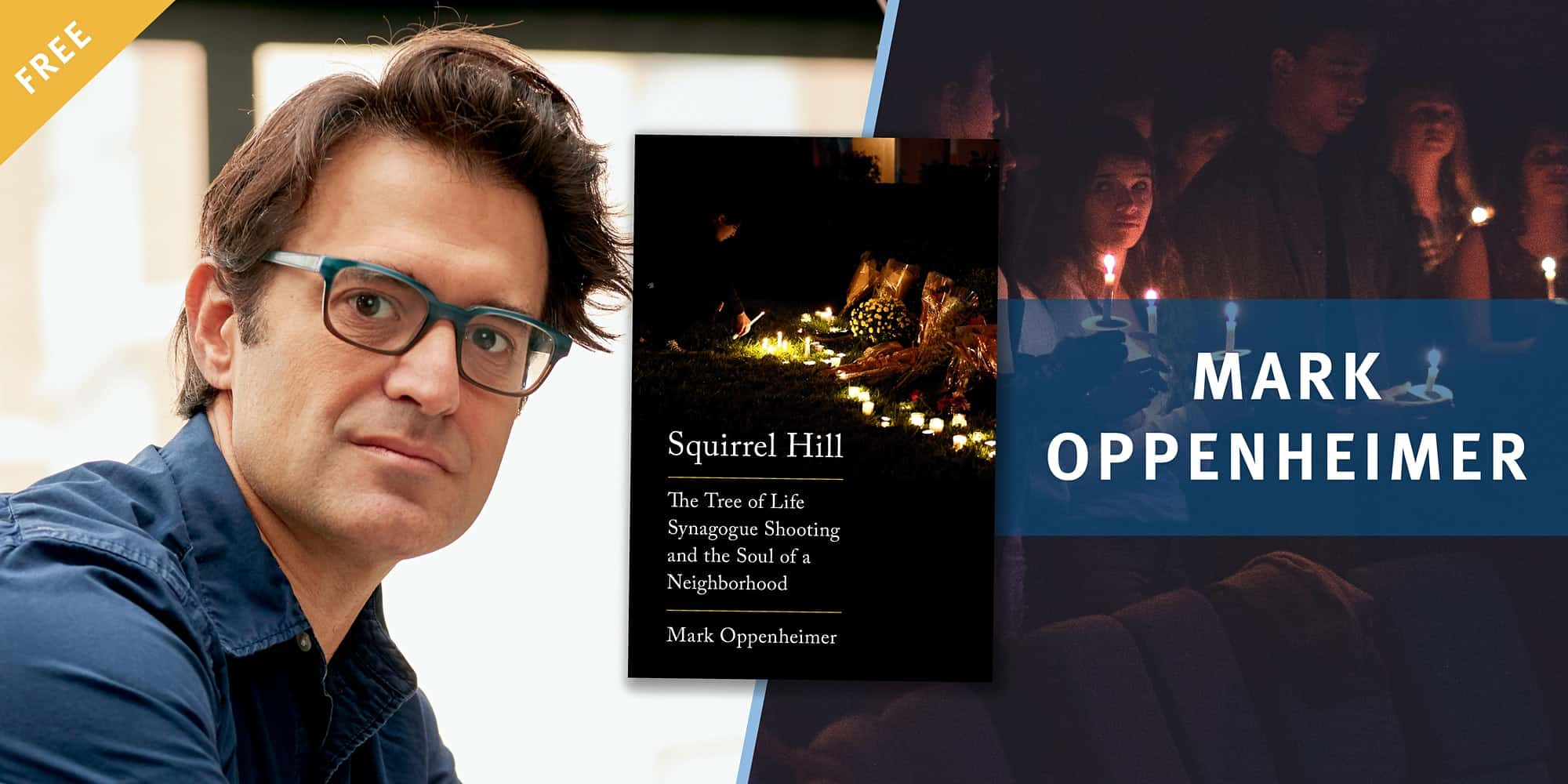 Book Talk: Squirrel Hill with Mark Oppenheimer