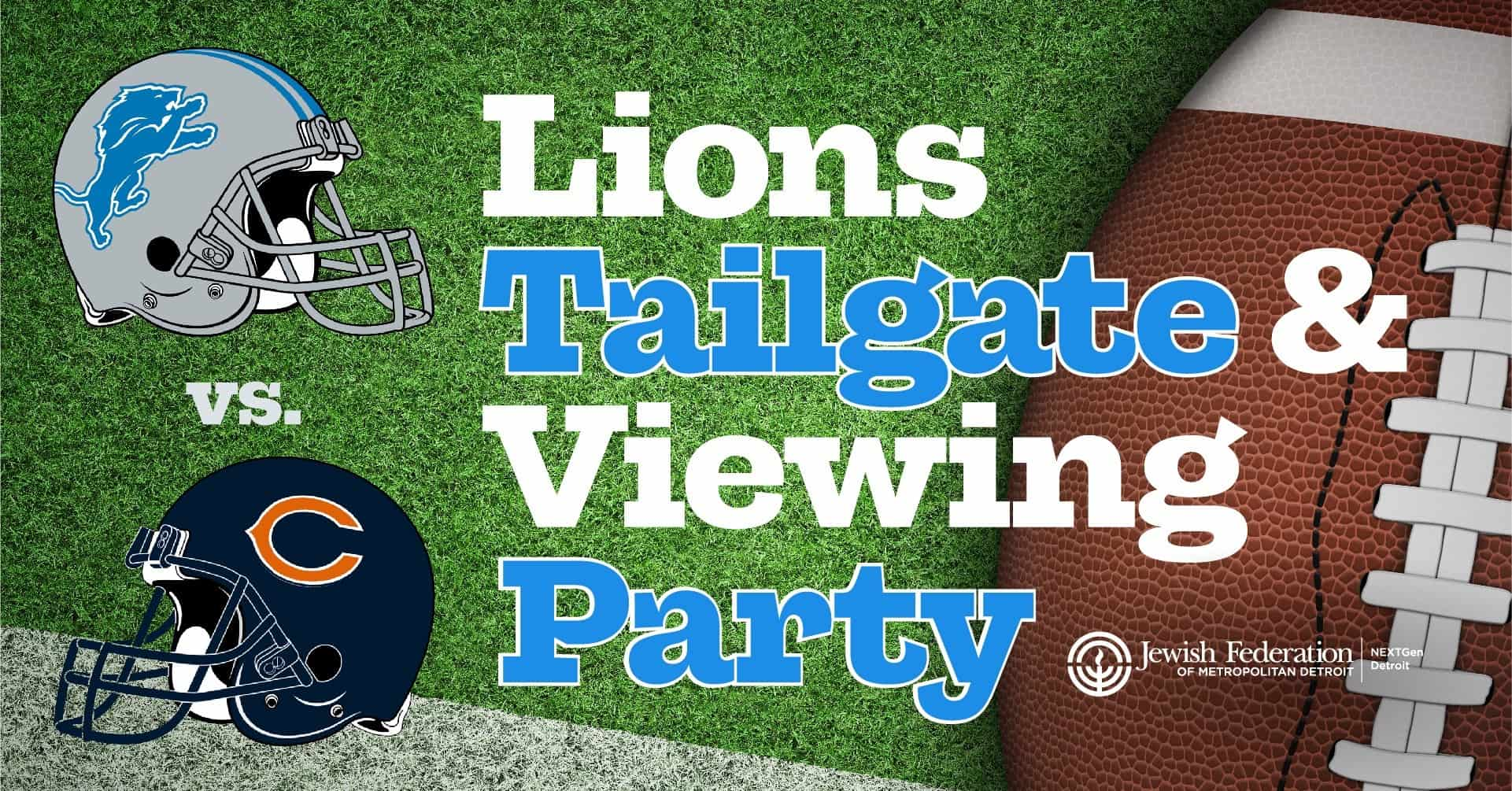Lions Tailgate and Viewing Party