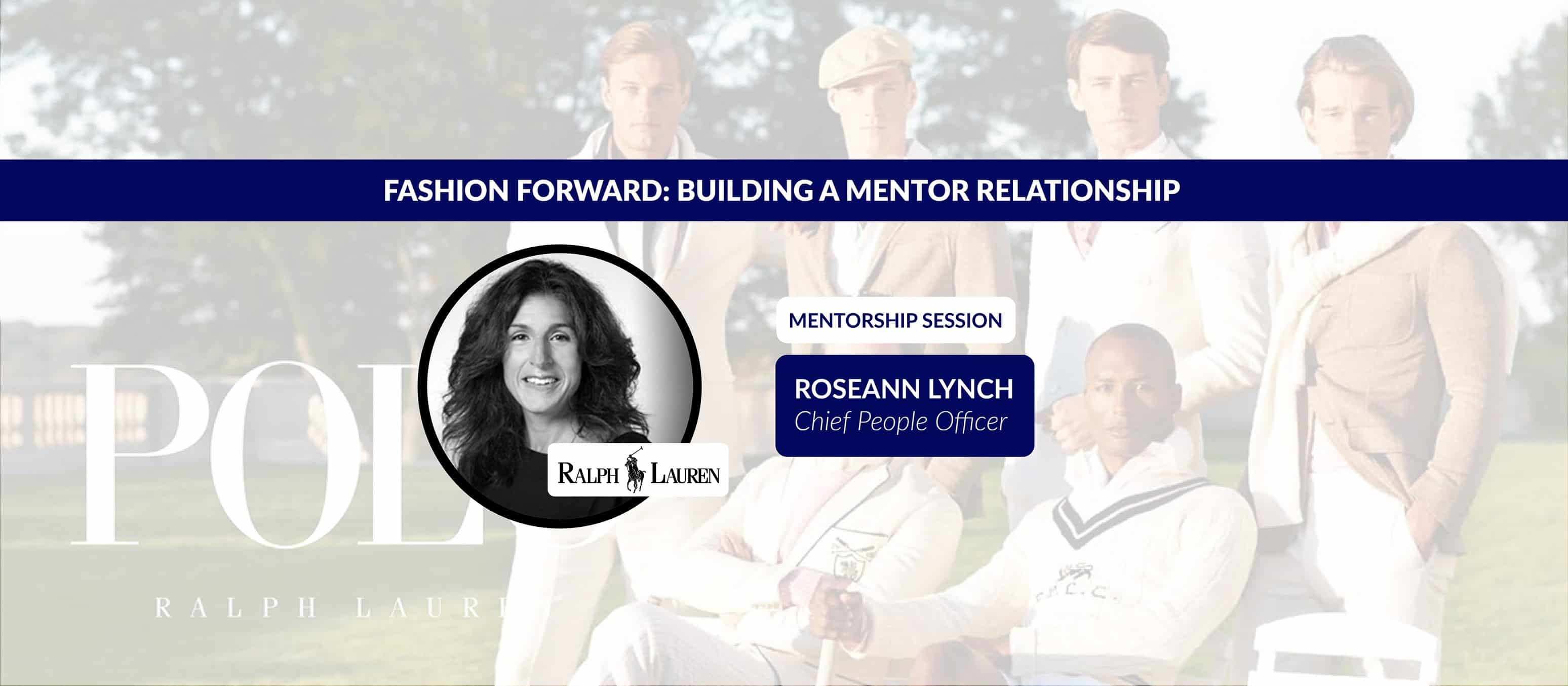 Fashion Forward: Building a Mentor Relationship with Ralph Lauren