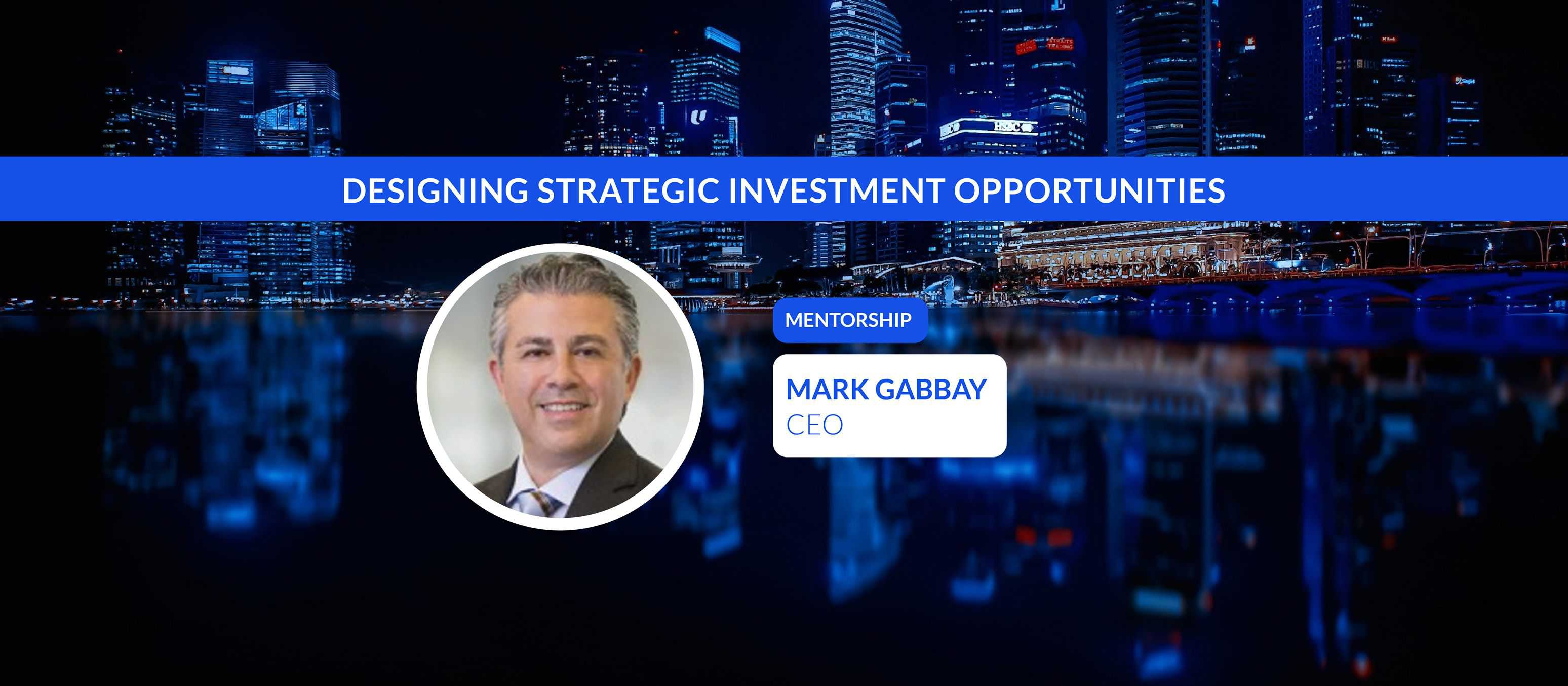 Designing Strategic Investment Opportunities with CEO of LaSalle Investment