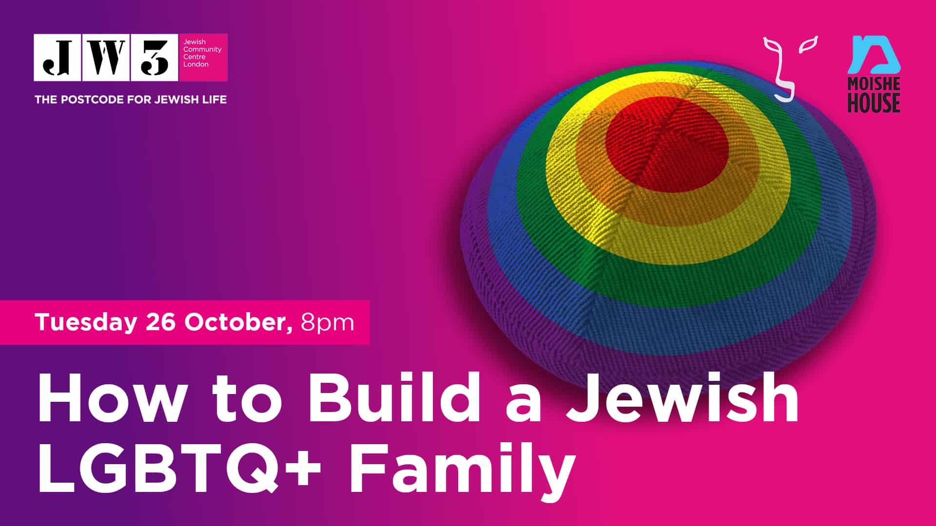 Young JW3: How to Build a Jewish LGBTQ+ Family