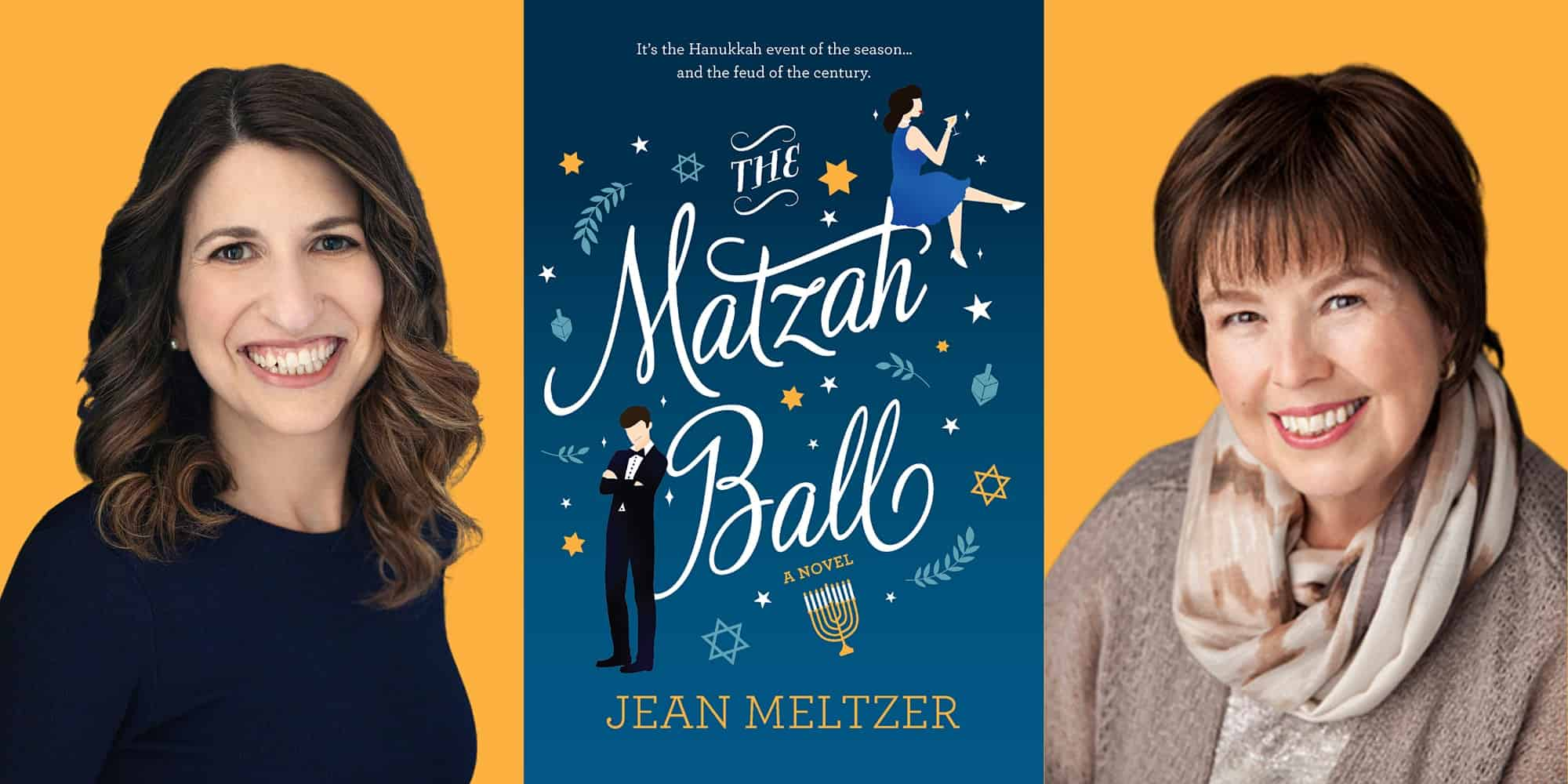 The Matzah Ball Launch with Jean Meltzer and Debbie Macomber!