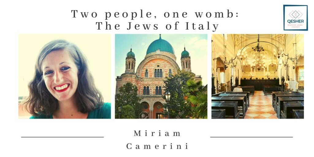 Two people, one womb: The Jews of Italy